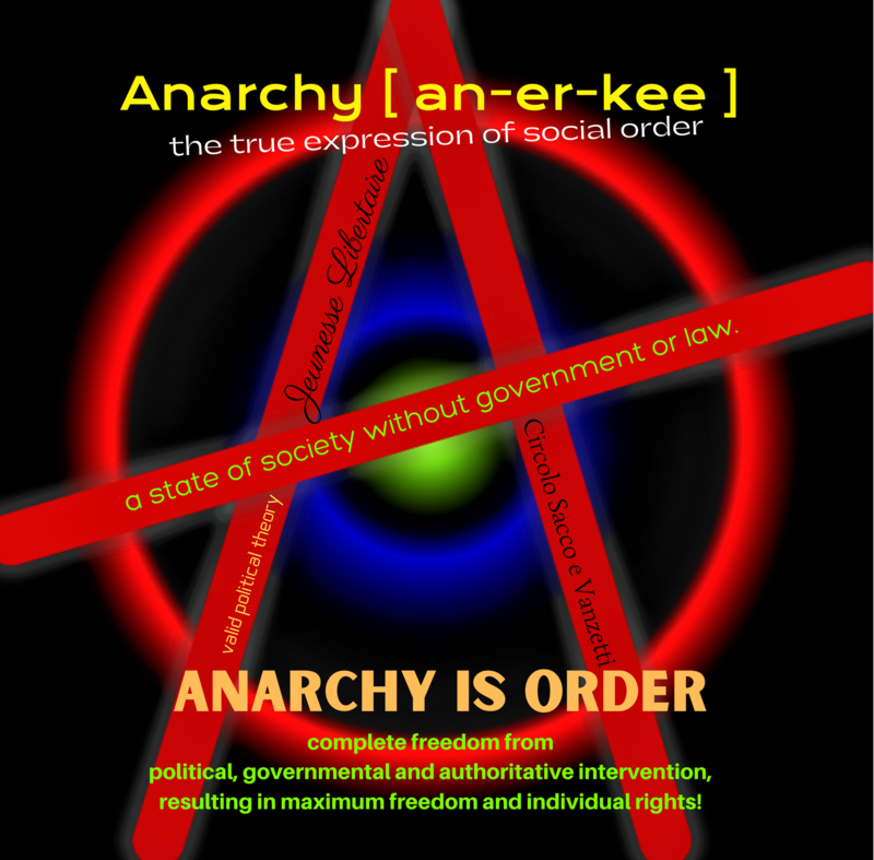 Anarchy Tee Shirt designed by Ray