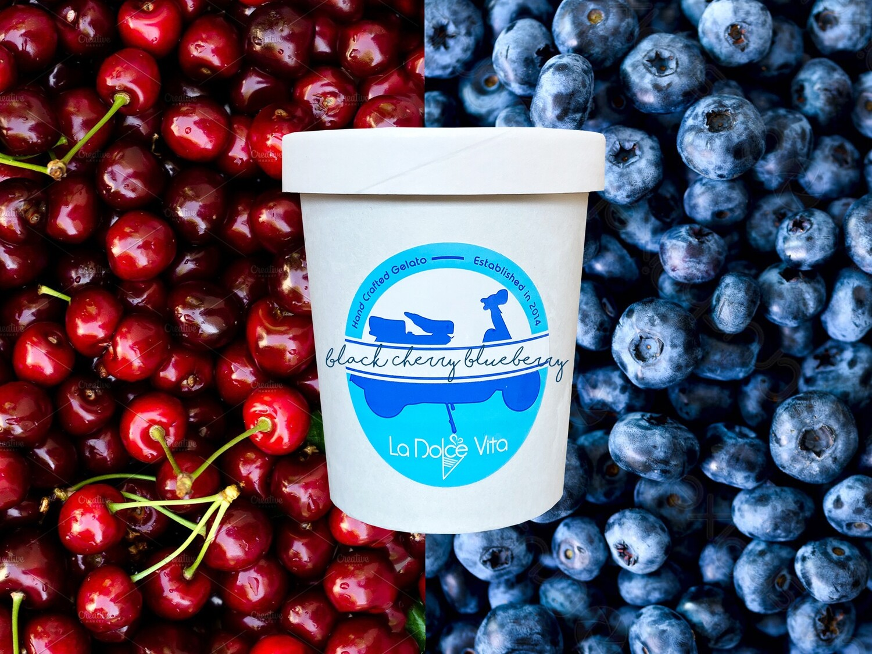 Black Cherry Blueberry Pint