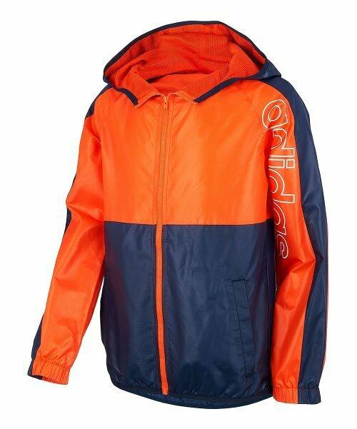 adidas, Оранжевая и темно-синяя ветровка Core