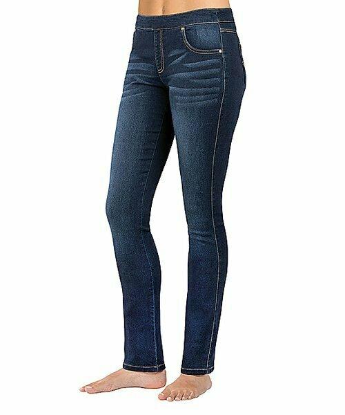 PajamaJeans, Джинсы скинни с эффектом потертости