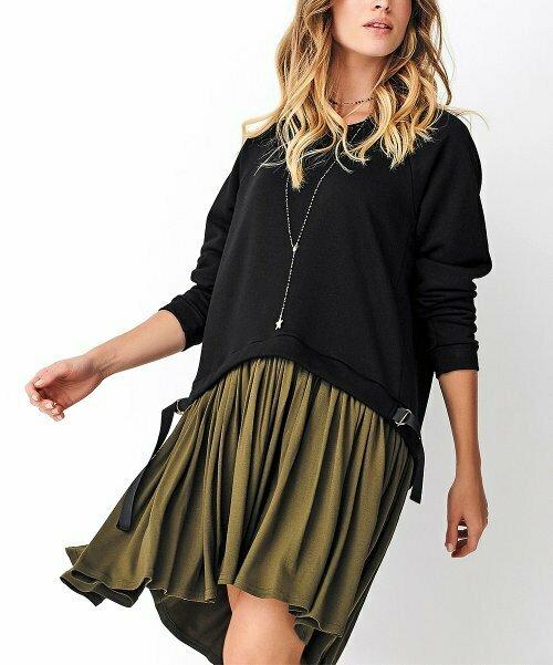 Двухслойное платье hi-low, Numinou