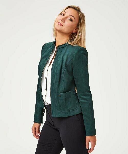 Темно-зеленая куртка на молнии, Tommy Hilfiger