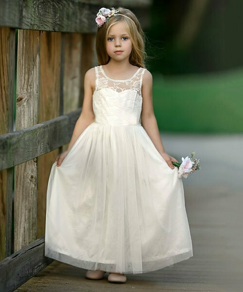 Платье цвета Ivory, Think Pink Bows
