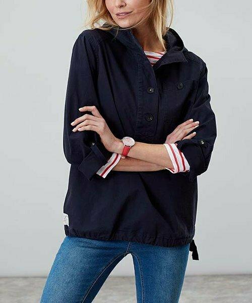 Темно-синяя куртка с капюшоном , Joules