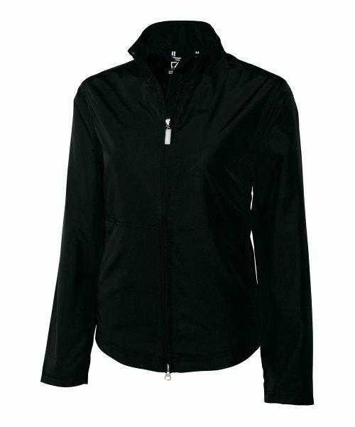 Черная куртка WeatherTec Bainbridge, Cutter & Buck