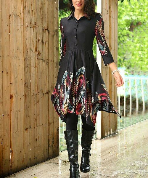 Платье с цветочным принтом, Reborn Collection
