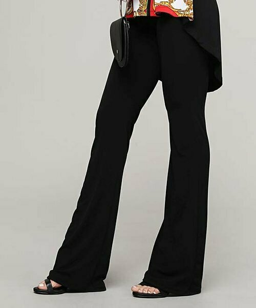 Черные брюки Bootcut, Lbisse