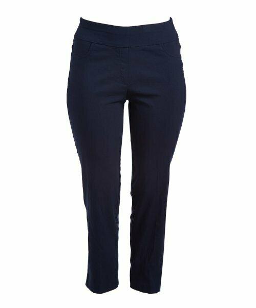 Ruby Rd., Темно-синие брюки StretchTech