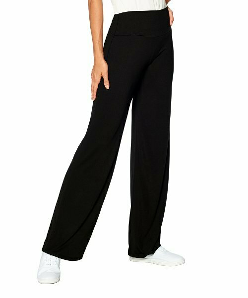 365 everyday everywhere, Черные брюки-палаццо с подтяжкой живота