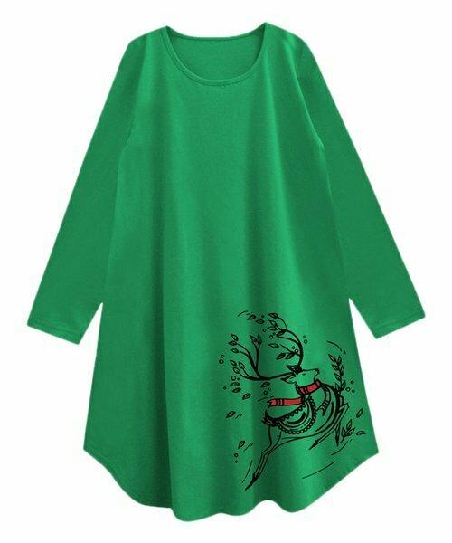 A.T.U.N., Зеленая туника Rudolph Caper Swing