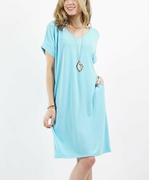 Lydiane, синее платье-футболка