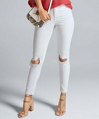 Venus, Белые рваные джинсы скинни