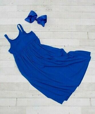 Dress Up Dreams Boutique, Королевское макси платье без рукавов