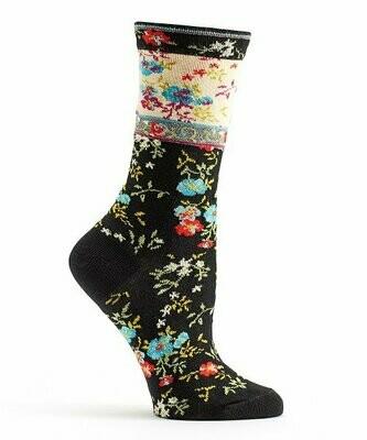 Ozone, Черные льняные носки Mona - для женщин