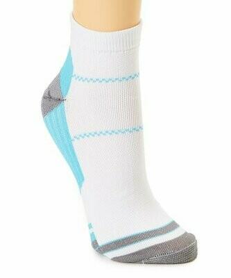 XTF by Extreme Fit, Комплект из трех компрессионных носков бело-синего цвета
