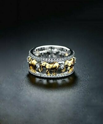 Кольцо с кристаллами Swarovski®, Barzel