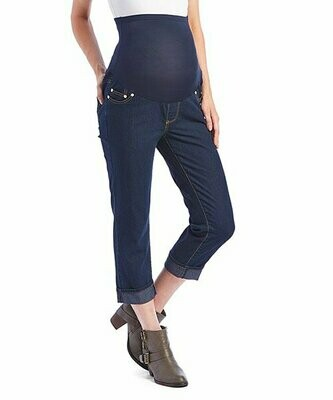 Times 2, Темные джинсы-капри для беременных
