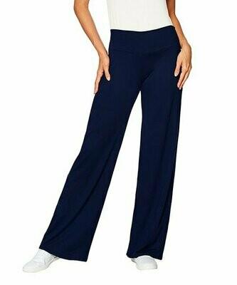 365 everyday everywhere, Темно-синие брюки-палаццо с подтяжкой