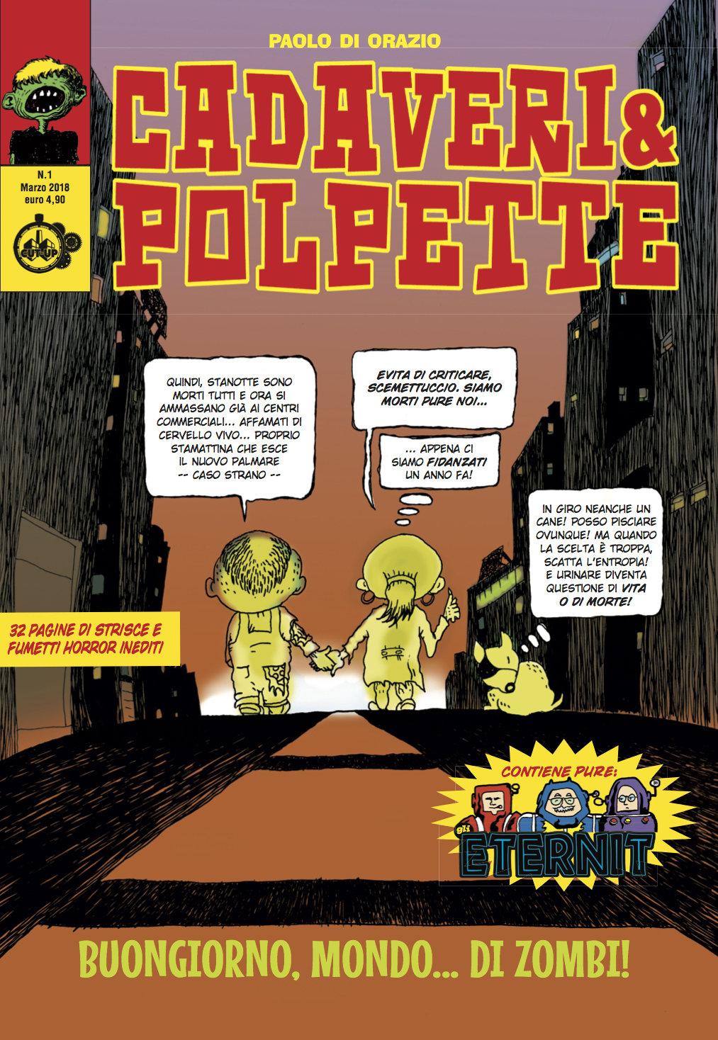 """CADAVERI & POLPETTE: """"Buongiorno mondo... di zombi!"""" di Paolo Di Orazio"""