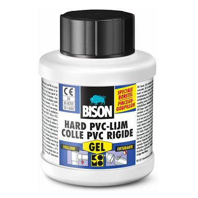 Bison Hard PVC Lijm GEL 250ML