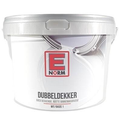 Enorm Dubbeldekker Muurverf - Wit/Basis 1 (3 producten)