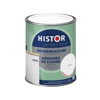 Histor PF Keukenkastjes Wit 750ml (3 glansgraden)