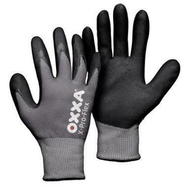 OXXA Werk Handschoen X-PRO-FLEX Zwart (3 maten)