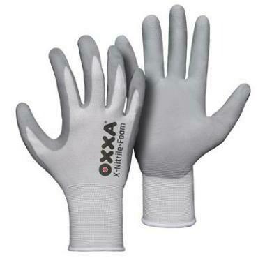 OXXA Werk Handschoen X-NITRILE FOAM Wit (3 maten)