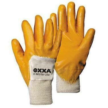 OXXA Werk Handschoen X-NITRILE-LITE GEEL (2 maten)