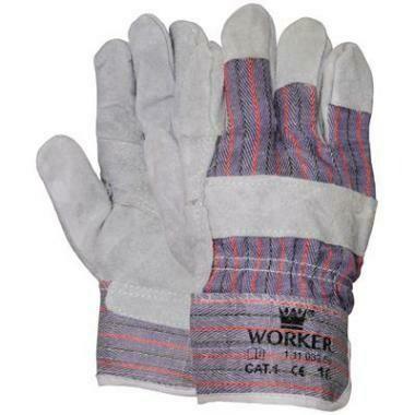Werkhandschoen Splitleder Amerikaantje