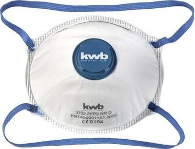 KWB Stofmasker met Ventiel (2 stuks)
