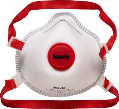 KWB FFP3 Geur en  Fijn Stofmasker met Ventiel