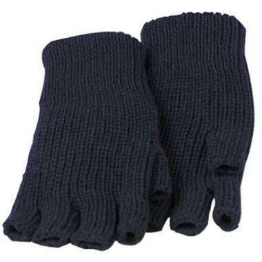 Winterhandschoen Halve Vingers / Gebreidde Polsmof Acryl