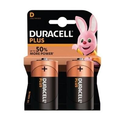 C-Cell Duracell Power Plus Baterijen - 2 stuks