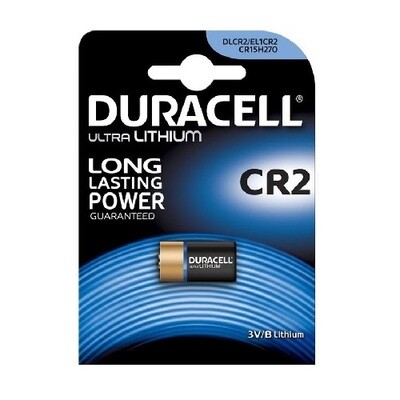 CR2 Duracell Ultra Batterij 3V
