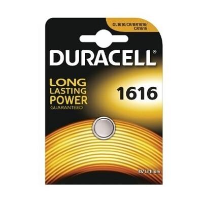 1616 Duracell 3V Knoopcel Batterij