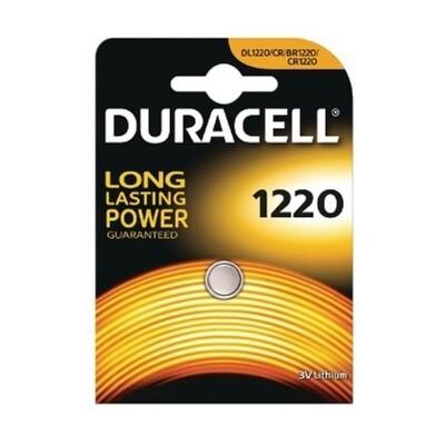 1220 Duracell 3V Knoopcel Batterij