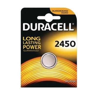 2450 Duracell 3V Knoopcel Batterij