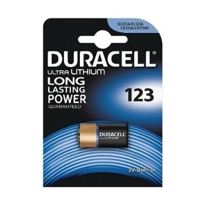 123 Duracell Ultra 3V Batterij