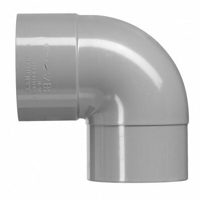 PVC Bocht Haaks 1xLM (10 producten)
