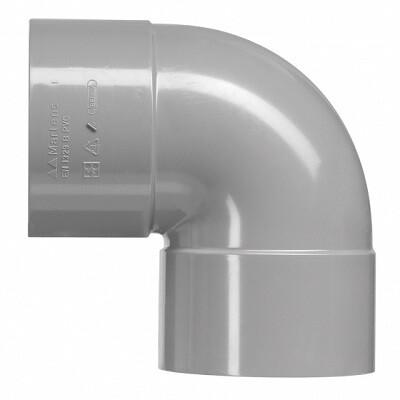 PVC Bocht Haaks 2xLM (8 producten)