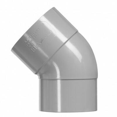 PVC Bocht 45 graden 1xLM (10 producten)