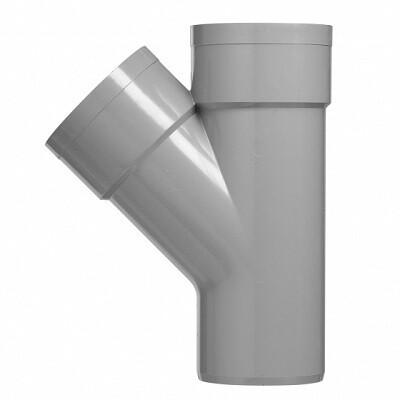 PVC T-stuk 45graden (15 producten)
