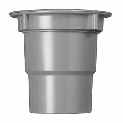 PVC Bakgootuitloop met Wartel (2 producten)