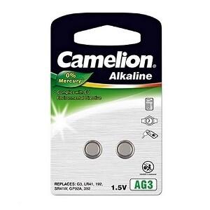 CAMELION 2X KNOOPCEL 1,5V D392/ LR41/ AG3