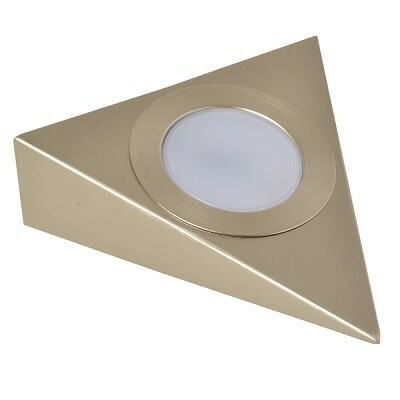 Nova LED Spot Driehoek / Keuken Alu Geborsteld