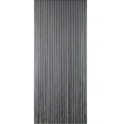 SUN-ARTS DEURGORDIJN NO.596 PALERMO TRANSPARANT/GRIJS 100X232CM