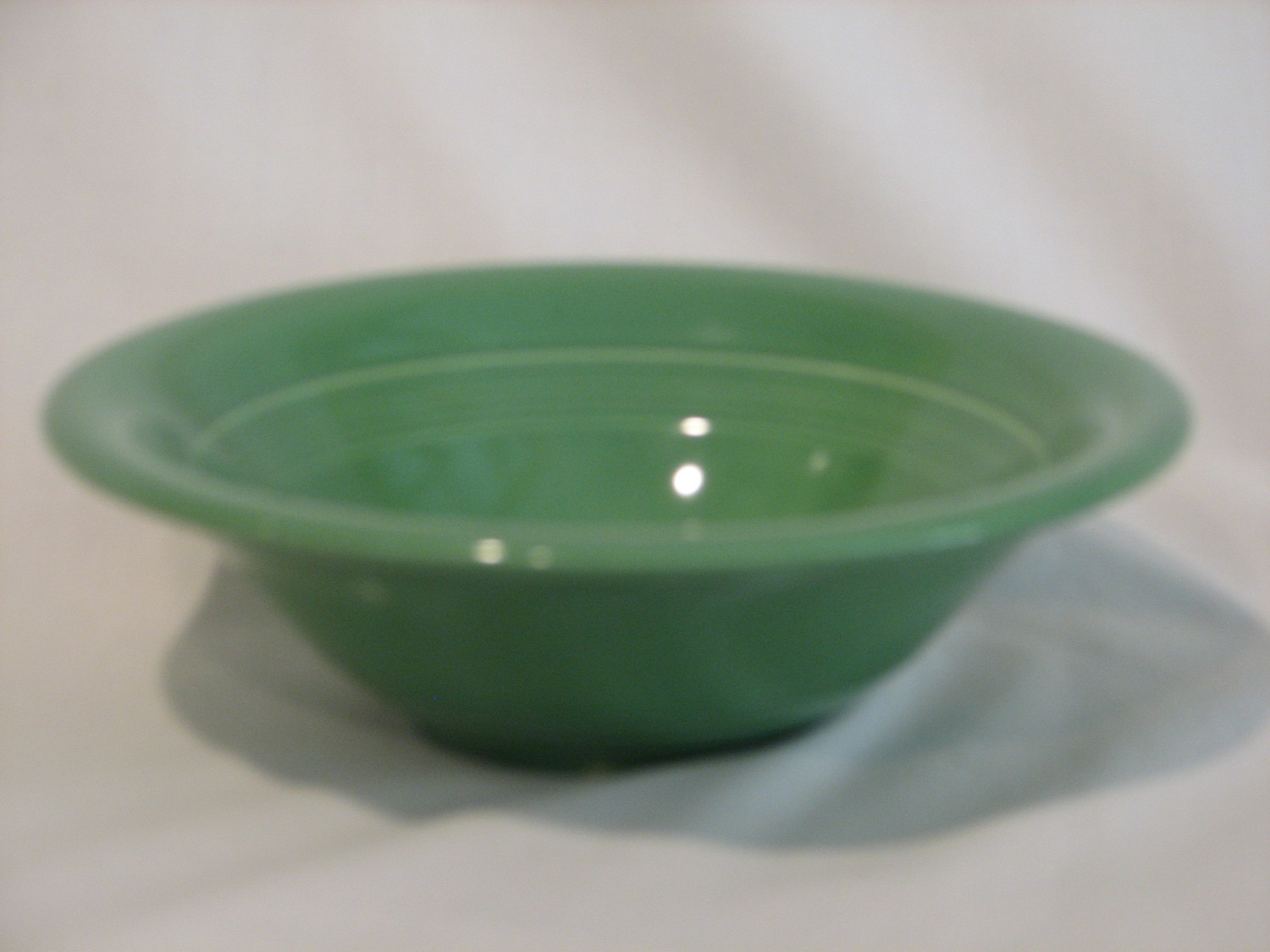 "Fiestaware by Homer Laughlin Fruit Bowl 6.5"" Green Color"