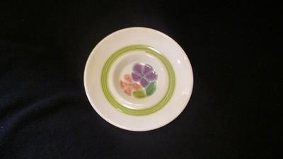"""Franciscan Earthenware, Floral Pattern, Saucer 5 3/4"""""""
