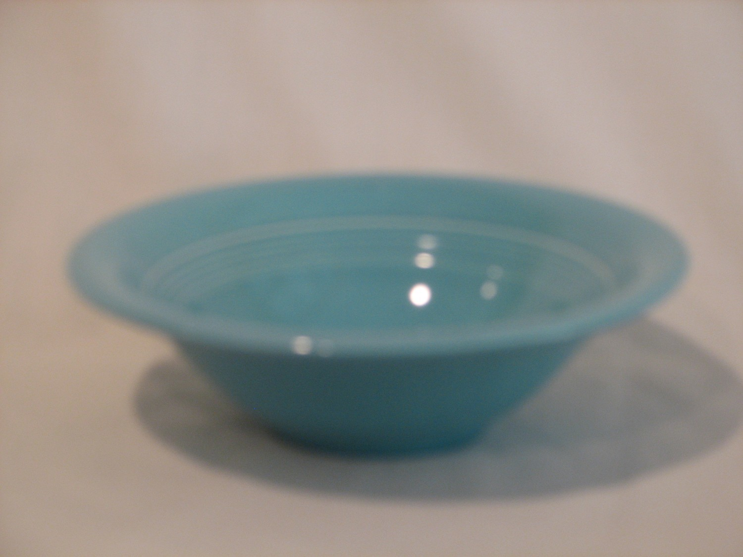 "Fiestaware by Homer Laughlin Fruit Bowl 6.5"" Blue Color"
